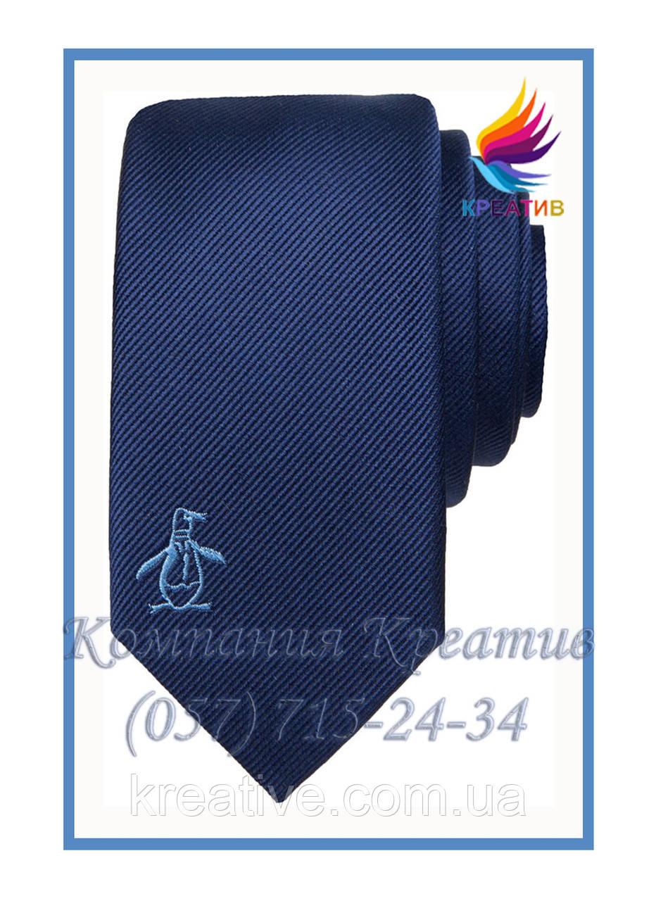 Галстуки с Вашим логотипом-вышвкой (под заказ от 50 шт) с НДС