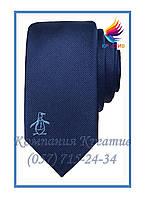 Галстуки с Вашим логотипом-вышвкой (под заказ от 50 шт) с НДС, фото 1