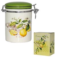 Ёмкость для сыпучих продуктов, 0,75 л. 'Лимон' SNT 629-7