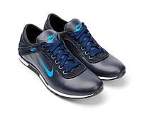 Кожаные мужские кроссовки «спорт-комфорт» 1325элс