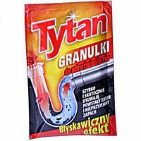 """Гранулированное средство для чистки труб """"Tytan"""" (сашетка)"""