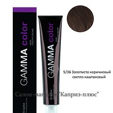 Фарба для волосся ERAYBA GAMMA 5/36