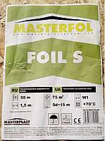 Подкровельная пленка MASTERFOL FOIL S (паробарьер)