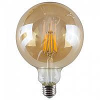 LED лампа Эдисона G125 6w 2700K Filament
