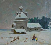Н.Т. Попов ,,возвращение домой,, 1999.