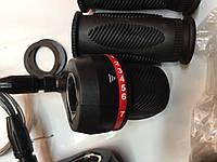 Грипшифты черные с красным без оплетки., фото 1