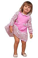 """Платье  детское    М -983 рост 80 86 92 и 98 с длинным рукавом тм """"Попелюшка"""", фото 1"""