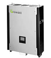 Сетевой солнечный инвертор с резервной функцией 10кВт, 3-фазы, 2 МРРТ, GROWATT 10000HYP