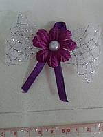 Свадебные цветы для гостей (цвет - фиолетовый) Ц-г-5-фиол