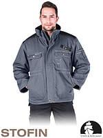 Зимняя куртка рабочая утепленная мехом (спецодежда) LH-FINER SB