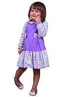 Платье  детское    М -983 рост 80-98  с длинным рукавом, фото 1