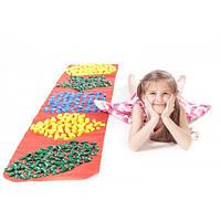 Массажный (ортопедический) коврик дорожка для детей с камнями Onhillsport 200*40см (MS-1213)