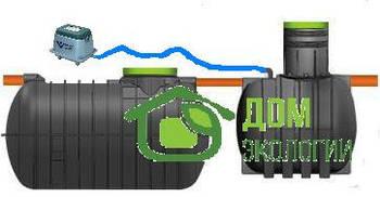 Автономная канализация для частного дома (очистка до 98%)