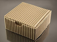 Коробка 70*70*30мм, гофрированная с крышкой