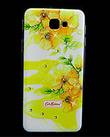 Чехол накладка для Samsung Galaxy J5 Prime G570 силиконовый Diamond Cath Kidston, Sun Flowers