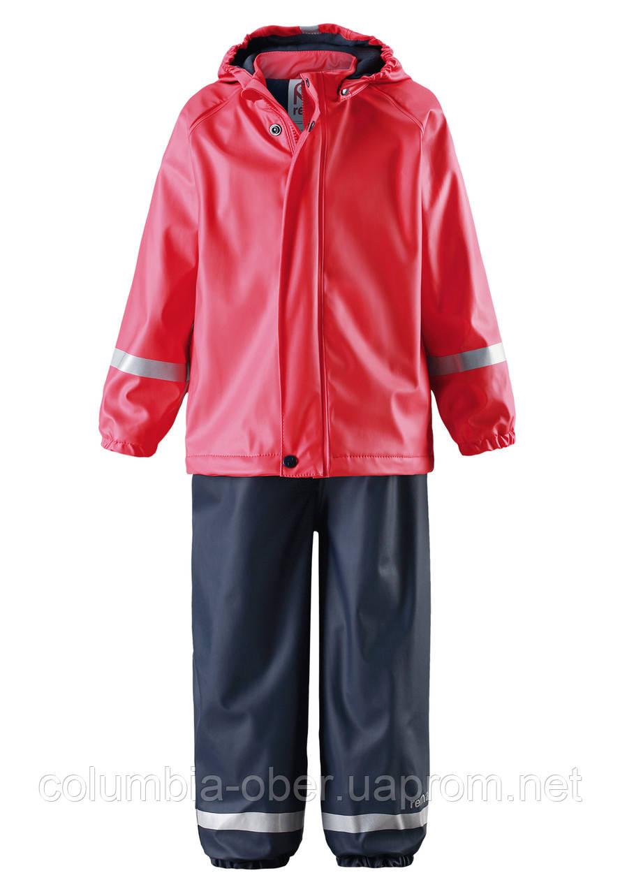 Комплект- дождевик для девочки Reima Joki 523108-3720.  Размер 86-128.