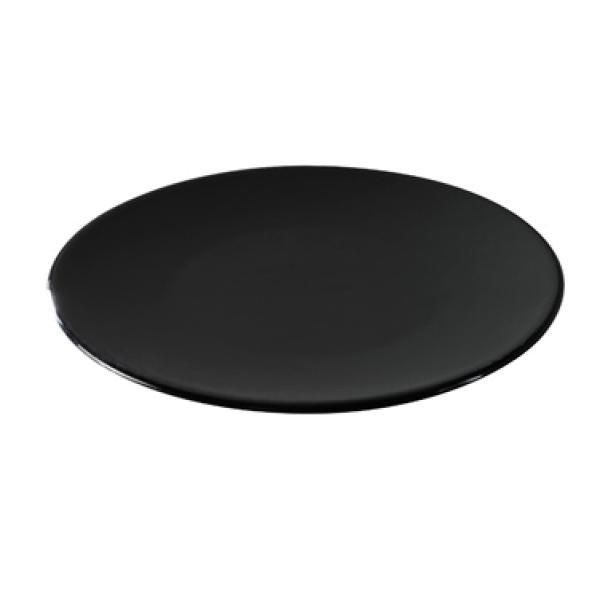 Тарелка круглая Revol черная серия Solid (16 см)