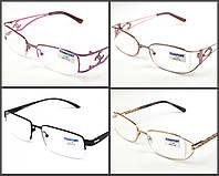 Очки для зрения в металлической оправе с диоптриями Comfort