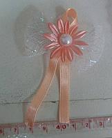 Свадебные цветы для гостей (цвет - персиковый) Ц-г-5-пер