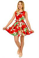 """Нарядное платье на девочку """"Яблоко"""", фото 1"""