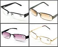 Очки для зрения в металлической оправе с диоптриями EAE