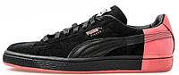 Мужские кроссовки PUMA Suede x Staple Black (Пума) черные