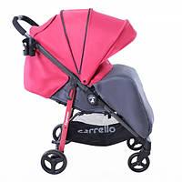 Детская Прогулочная коляска CARRELLO Espresso - легкая алюминиевая рама, корзина, подставка, с футкавером