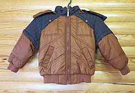 Детская куртка для мальчика Турция (рост 110, 116, 122, 128)