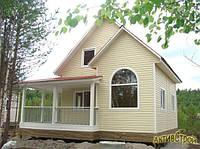 Строительство дачного дома под ключ недорого