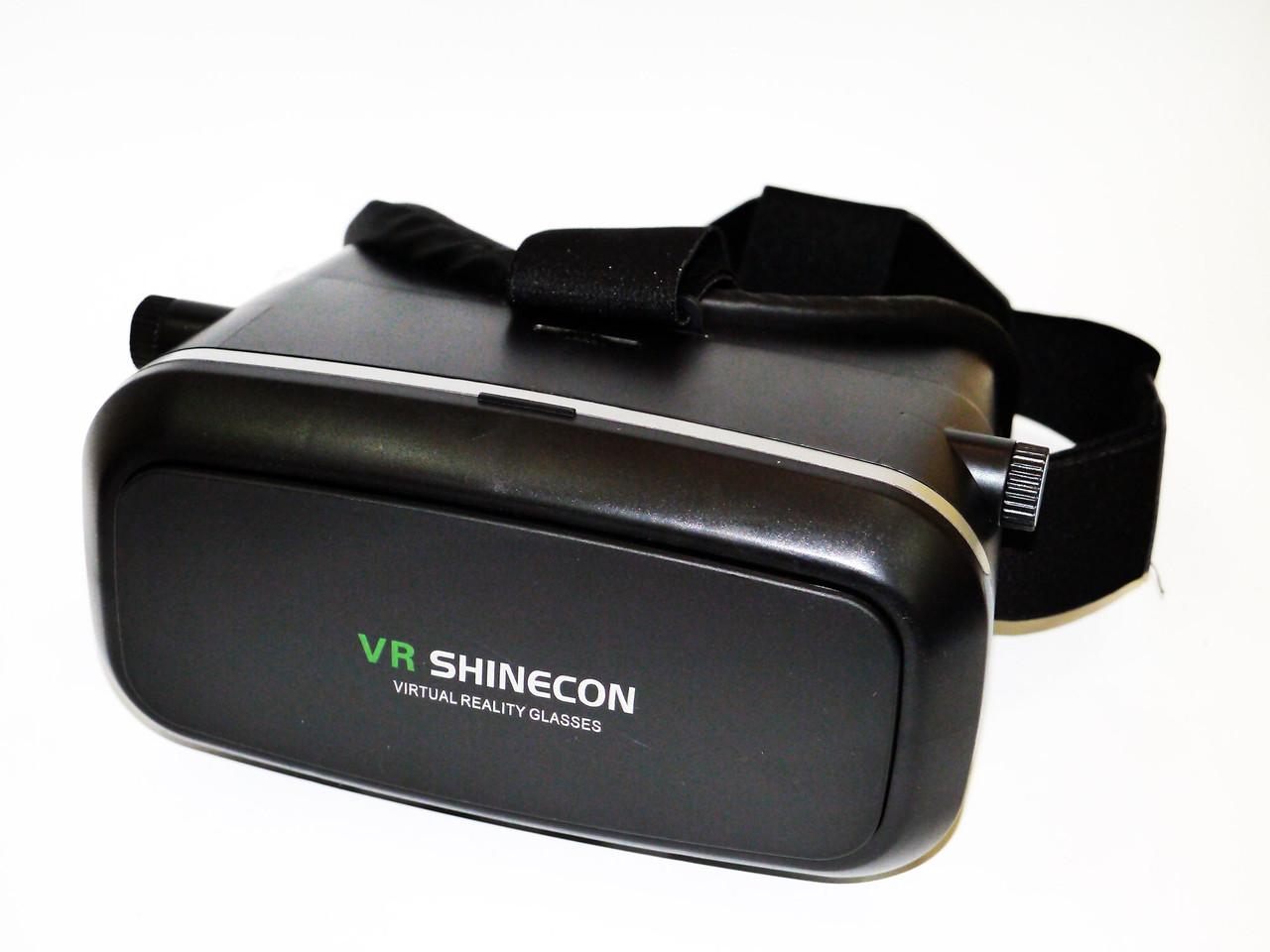 VR Shinecon Очки Виртуальной Реальности 3D Glasses с пультом