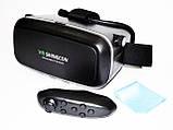 VR Shinecon Очки Виртуальной Реальности 3D Glasses с пультом, фото 4
