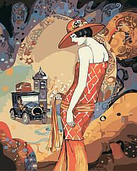 Картина-раскраска Идейка Шарм Худ Хелена Лам (KH2650) 40 х 50 см
