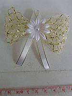 Свадебные цветы для гостей (цвет - золотистый) Ц-г-5-зол