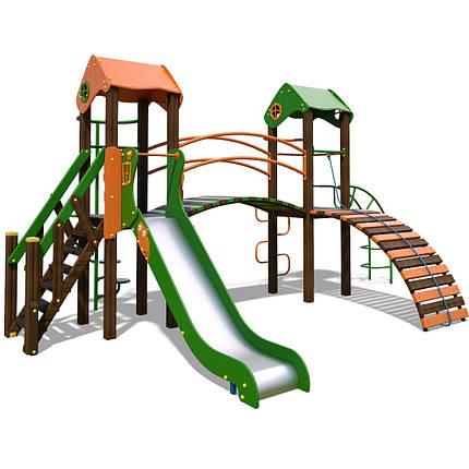 """Игровой комплекс оранжево-зеленый """"Гномик-NEW"""" T802 NEW, фото 2"""
