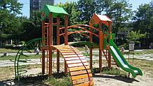 """Игровой комплекс оранжево-зеленый """"Гномик-NEW"""" T802 NEW, фото 3"""