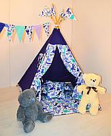 Комплект детского игрового вигвама, палатка, шатер