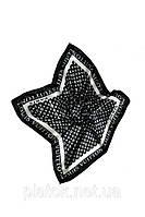 Шейный платок брендовый Louis Vuitton черный