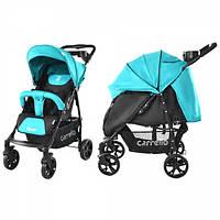 Детская Прогулочная коляска CARRELLO Forte - легкая алюминиевая рама, корзина, столик для мамы, с футкавером
