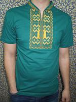 """Вышиванка  футболка  мужская """" Гуцул """" 1 (С.П.О.)"""