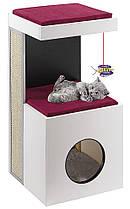 Ferplast DIABLO Ігровий комплекс з когтеточку для кішок