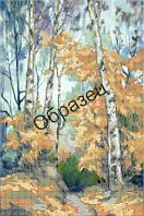 Схема для вышивки бисером «Осенний лес»