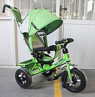 Трехколесный велосипед TILLY Trike T-364 надувные колеса,зеленый