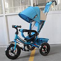 Трехколесный велосипед TILLY Trike T-364 надувные колеса,синий
