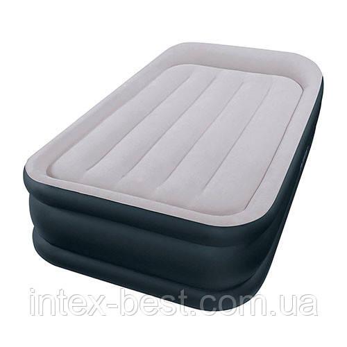 Intex 64132 надувная кровать Deluxe Pillow Rest Raised Bed 99x191x42см
