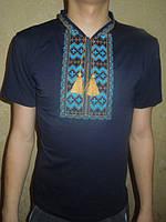 """Вышиванка  футболка  мужская """" Гуцул """" 6 (С.П.О.)"""