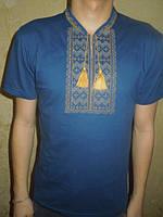 """Вышиванка  футболка  мужская """" Гуцул """" 22 (С.П.О.)"""
