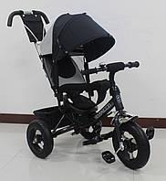 Трехколесный велосипед TILLY Trike T-364 надувные колеса,черный