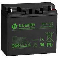 Аккумуляторная батарея BB Battery BС 17-12 FR 12V-17Ah