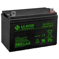 Аккумуляторная батарея BB Battery BС 100-12 FR 12V-100Ah