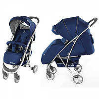 Детская Прогулочная коляска CARRELLO Perfetto - легкая алюминиевая рама, большая корзина, смотровое окошко